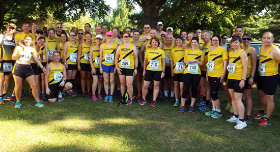 Harriers at Bedford 10k